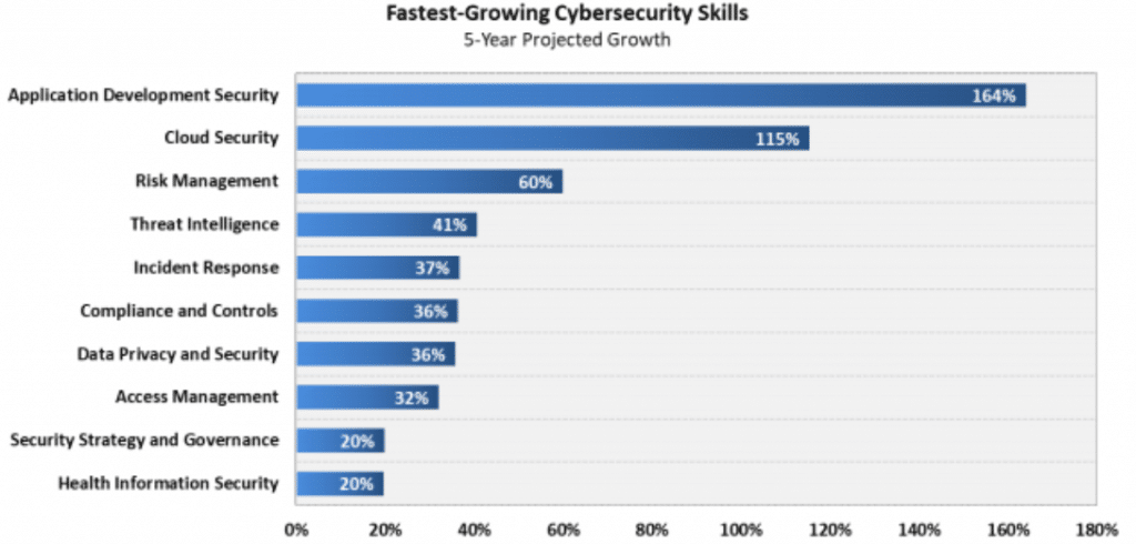 Faster Growing Security Skills.